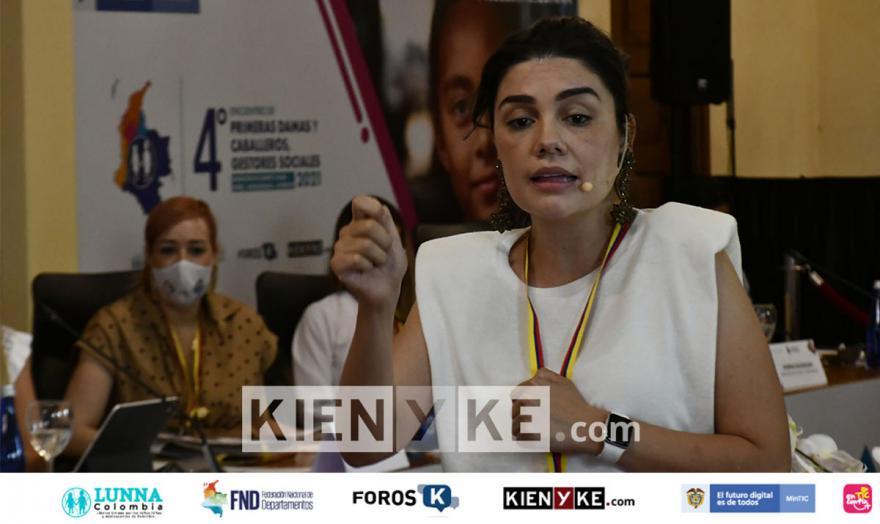Diana Pineda, líder de inversión social de la fundación éxito