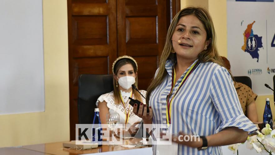 Zulma Fonseca, directora de nutrición del ICBF.
