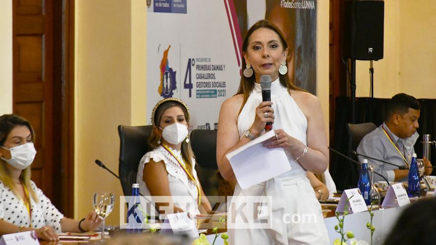 Carolina Salgado, Consejera Presidencial para la Niñez y Adolescencia.